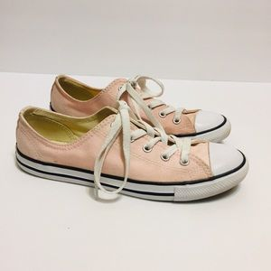 Converse All Star Pink Sneakers. Size 7